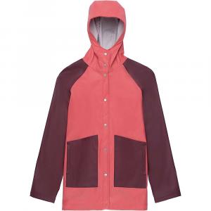 Herschel Supply Co Women's Classic Rain Jacket - Medium - Mineral Red / Plum