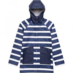 Herschel Supply Co Women's Classic Rain Jacket - Small - Border Stripe/Peacoat