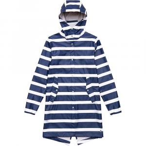 Herschel Supply Co Women's Fishtail Rain Jacket - Large - Border Stripe