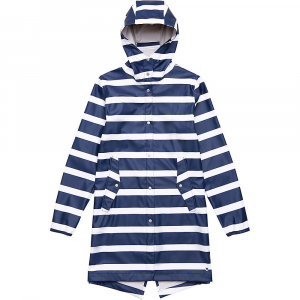 Herschel Supply Co Women's Fishtail Rain Jacket - Small - Border Stripe