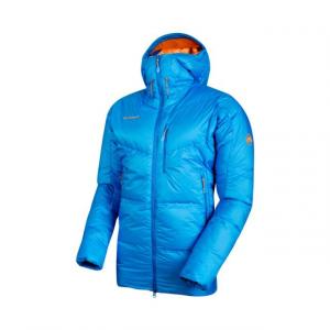 Mammut Eigerjoch Pro Hooded Down Insulated Jacket - Men's, Ice, XL