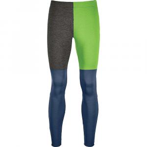 Ortovox Men's Fleece Light Long Pant - Small - Matcha Green