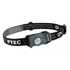 Princeton Tec Byte LED Headlamp, 100 Lumens, Black/Gray