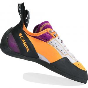 Scarpa Women's Techno X Climbing Shoe - 34.5 - Silver / Petunia