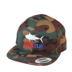 Xtratuf Tuna Flat Brim Snapback Cap - Mens, CAMO, Medium