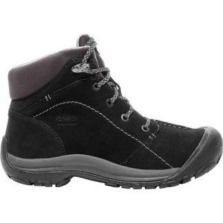 KEEN Women's Kaci Winter Mid Waterproof Boot - 6.5 - Black / Magnet