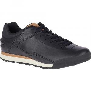 Merrell Men's Burnt Rock Leather Shoe - 11.5 - Black