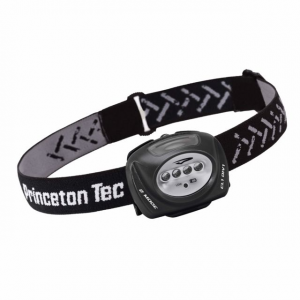 Princeton Tec Quad Industrial Headlamp, Black