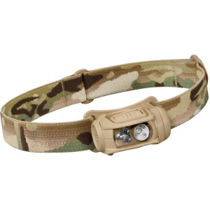 Princeton Tec Remix 300 Headlamp with Red/Green/Blue LEDs, Multicam