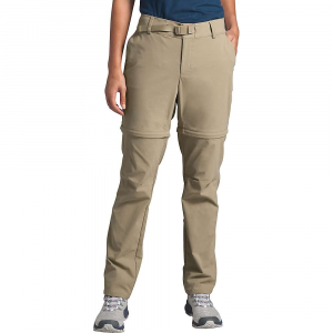 The North Face Women's Paramount Active Convertible Mid-Rise Pant - 14 Regular - Twill Beige