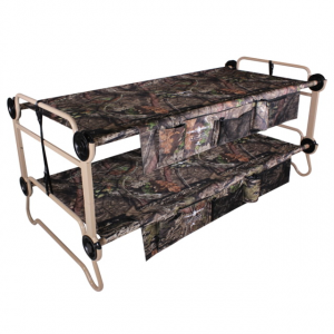 Disc-O-Bed Cam-O-Bunk with 2 Side Organizers, Mossy Oak, Extra Large