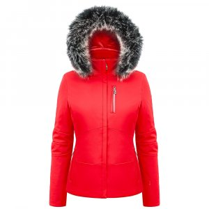 Poivre Blanc Diana Insulated Ski Jacket with Faux Fur (Women's)