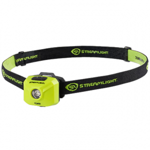 Streamlight QB Compact Spot Beam LED Headlamp, Clam, Yellow