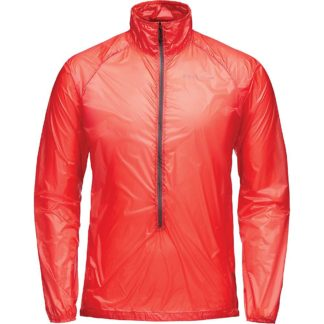 Black Diamond Men's Deploy Wind Shell Jacket - Small - Hyper Red