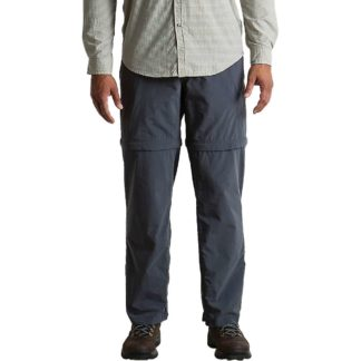 ExOfficio Men's BugsAway Sol Cool Convertible Ampario Pant - 32x32 - Carbon