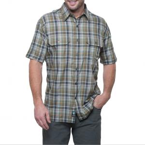 Kuhl Men's Response Plaid Short-Sleeve Shirt - Size S