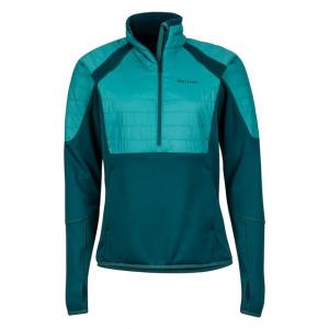 Marmot Furiosa 1/2 Zip Fleece Jacket - Women's, Deep Teal/Patina Green, Large