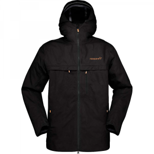Norrona Men's Svalbard Cotton Jacket - Small - Caviar