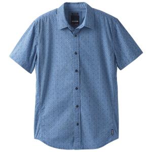 Prana Men's Ulu Woven Short-Sleeve Shirt - Size S