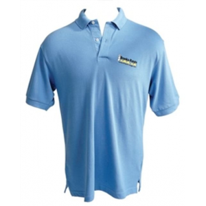 Brooks-Range Polo Shirt Men's, Blue, Small