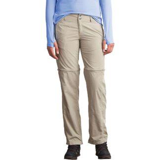 ExOfficio Women's BugsAway Sol Cool Ampario Convertible Pant - 8 Regular - Tawny
