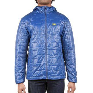 Helly Hansen Men's Lifaloft Hooded Insulator Jacket - XL - North Sea Blue