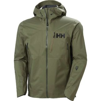 Helly Hansen Men's Odin 3D Air Shell Jacket - Small - Forest Night