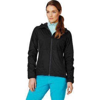 Helly Hansen Women's Odin Stretch Hooded Light Insulator Jacket - Large - Black