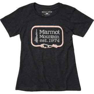 Marmot Women's Ascender SS Tee - Medium - Charcoal Heather