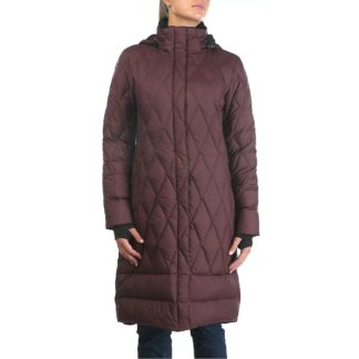 Moosejaw Women's Woodward Longer Down Jacket - Small - Bordeaux