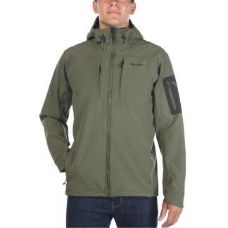 Moosejaw Men's Harper Hooded Softshell Jacket - XXL - Leaf