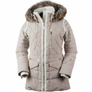 Obermeyer Blythe Down w/Faux Fur Womens Insulated Ski Jacket 2019