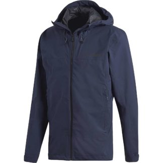 Adidas Men's Swift Rain Jacket - Small - Legend Ink