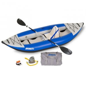 Blue Sea Eagle Explorer 300X Inflatable Kayak Deluxe Package - 9' 10""