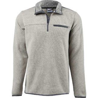 Columbia Men's Terpin Point III Half Zip Sweater - 2X - Stone