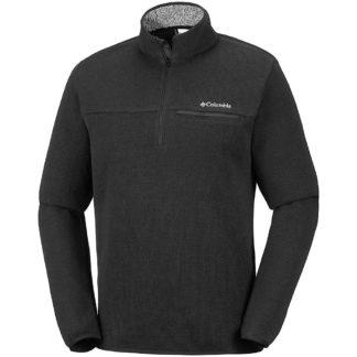 Columbia Men's Terpin Point III Half Zip Sweater - XXL - Shark