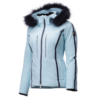 Descente Layla Faux Fur Womens Insulated Ski Jacket