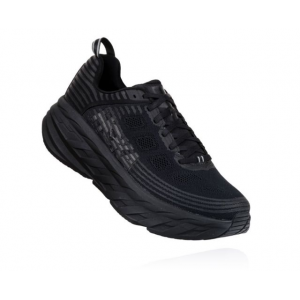 Hoka One One Bondi 6 Road Running Shoes - Men's, Black/Black, Medium, 12.5
