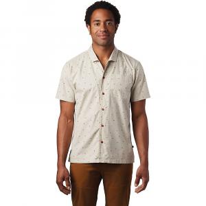 Mountain Hardwear Men's Hand/Hold Printed SS Shirt - Small - Lightlands Cam Print