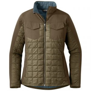 Outdoor Research Prologue Refuge Jacket - Women's, Coyote/Carob, Extra Small
