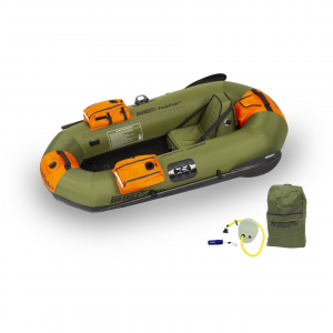 Sea Eagle PackFish7 Fishing Kayak Deluxe Package