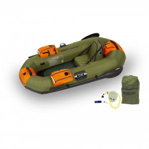 Sea Eagle PackFish7 Fishing Kayak Pro Package