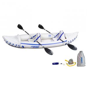 Sea Eagle Sport SE330 Inflatable Kayak Pro Tandem Package