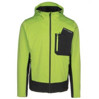 Spyder Ascender GTX Infinium Fleece Hoodie Mens Soft Shell Jacket