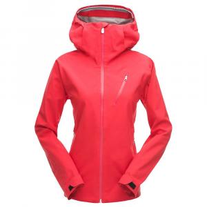 Spyder Women's Jagged Shell Jacket - XL - Hibiscus / Hibiscus