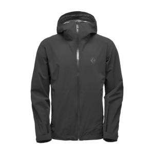 Black Diamond Stormline Stretch Rain Shell Jacket - Men, Black, Large