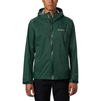 Columbia Men's EvaPOURation Jacket - 3X - Rain Forest