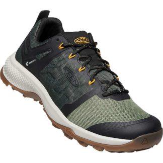 KEEN Men's Explore Vent Shoe - 8.5 - Climbing Ivy / Oliveine