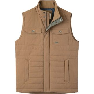 Mountain Khakis Men's Swagger Vest - Small - Tobacco