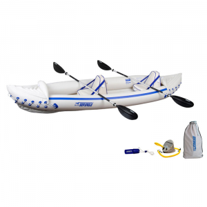 Sea Eagle Sport 370 Inflatable Kayak Pro Tandem Package